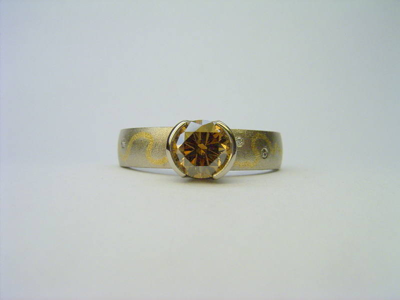 Hand crafted contemporary rings